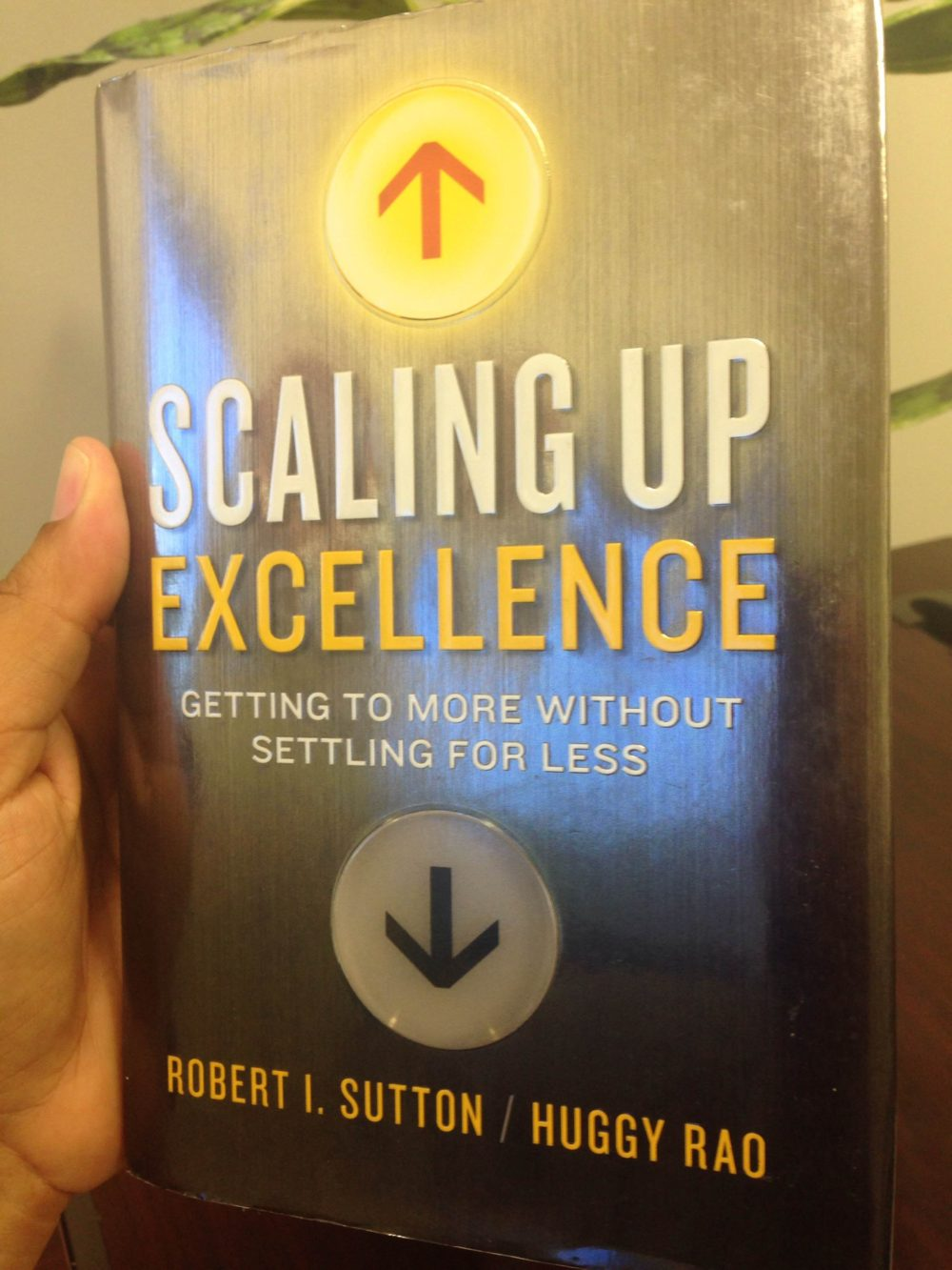 Scaling Up Excellence by Robert Sutton and Huggy Rao